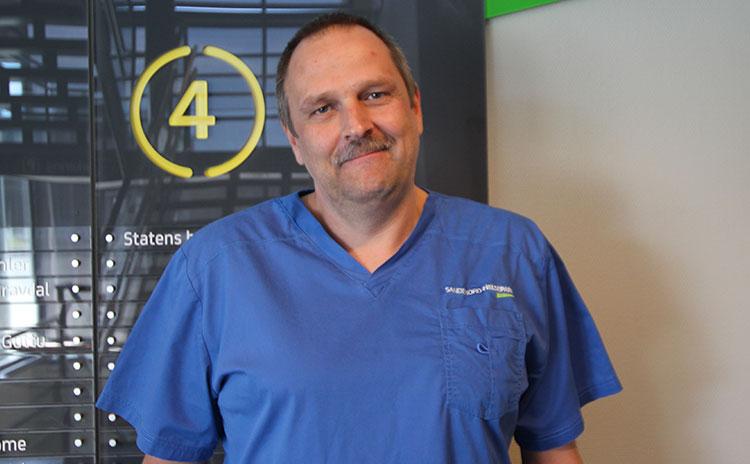 Ortoped ved Sandefjord Helsepark: Dr. Sandro Rolle