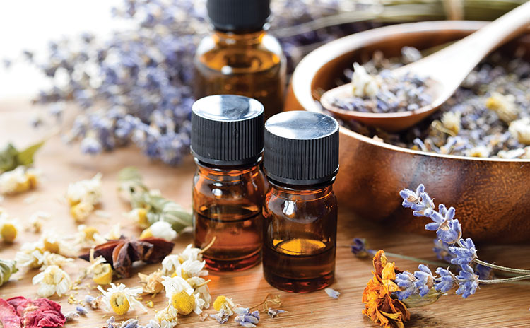 Aromaterapi og klassisk massasje