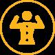 Ikon Muskel/Skjelett